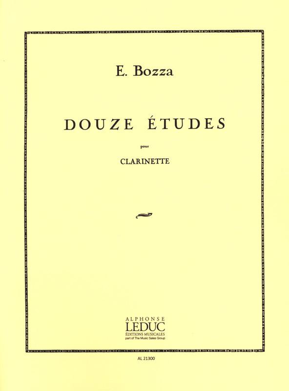 Douze(12)para clarinete. Eugene Bozza