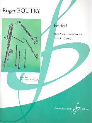 Festival (2014) para clarinete. Roger Boutry
