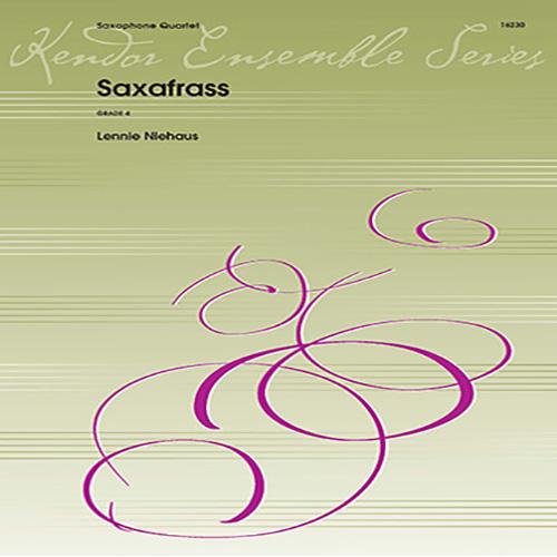Saxafrass(1986)para saxofón. Lennie Niehaus