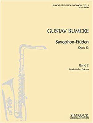 Saxophon-Etüdenop.43.Gustav Bumcke