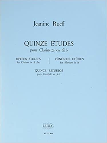 15Etudes. Jeanine Rueff
