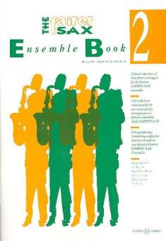 The Fairer Sax Ensemble Book 2 para cuarteto de saxofones. Karen Street /  Anne-Louise Lane