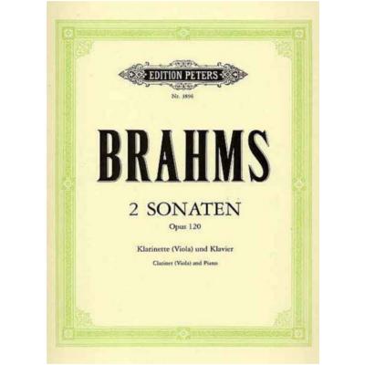 Sonatenop.120No.1undNo.2.JohannesBrahms