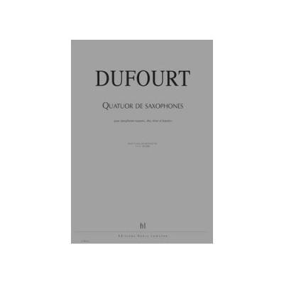 QuatuordeSaxophones(1993)Hugues Dufourt