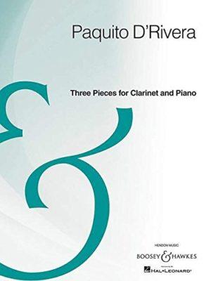 Three pieces. Paquito D'Rivera