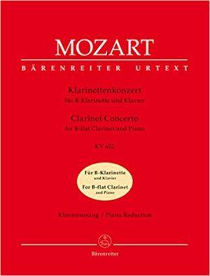 KonzertKV622para clarinete Bb, solo parte de clarinete. WolfgangAmadeus Mozart