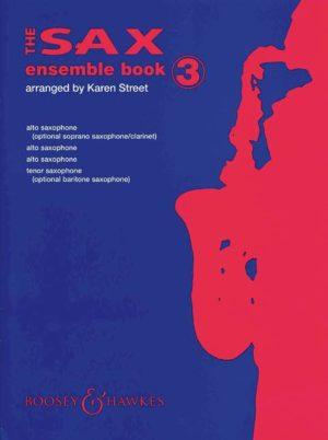 TheFairerSaxEnsembleBook3para cuarteto de saxofones.Karen Street/Anne-Louise Lane