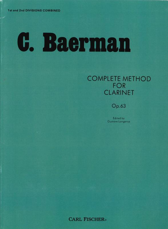 BaermannEtüdenausderSchuleop.63 para bajo alto o bajo. CarlBaermann