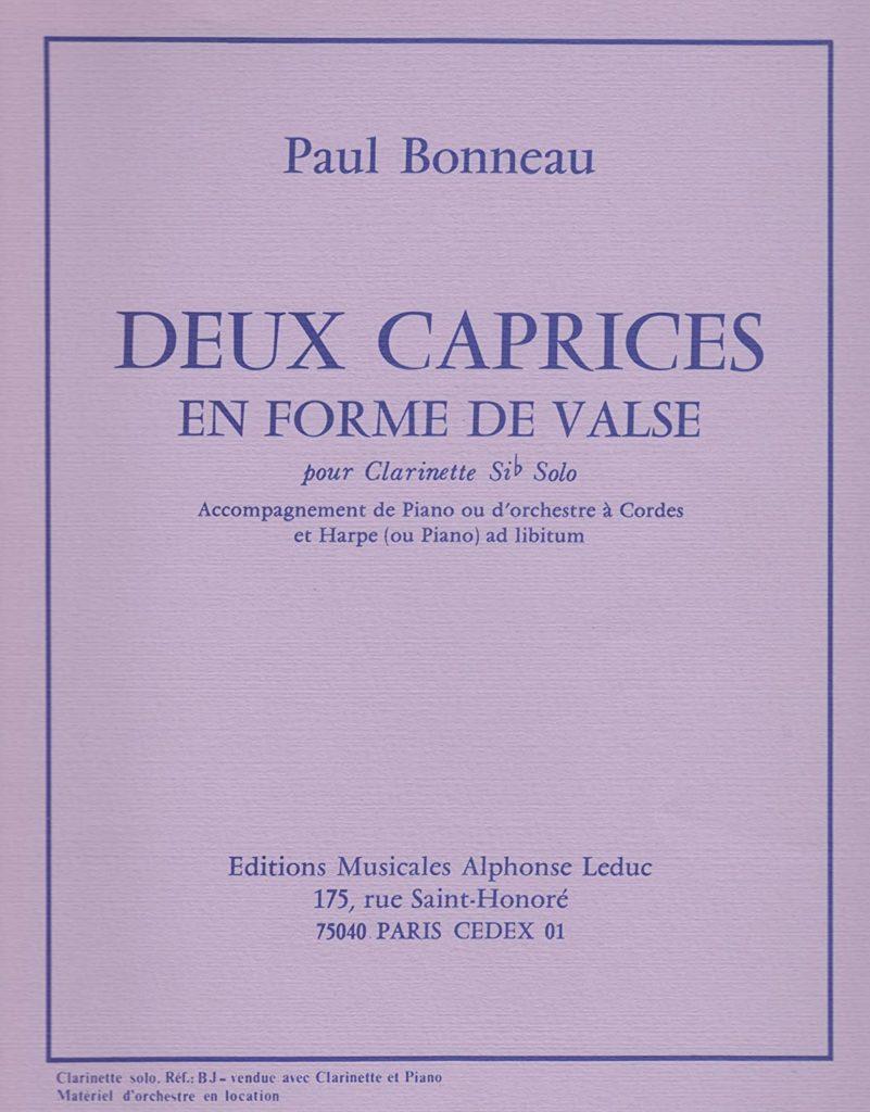DeuxCapricesenFormedeValse. Paul Bonneau