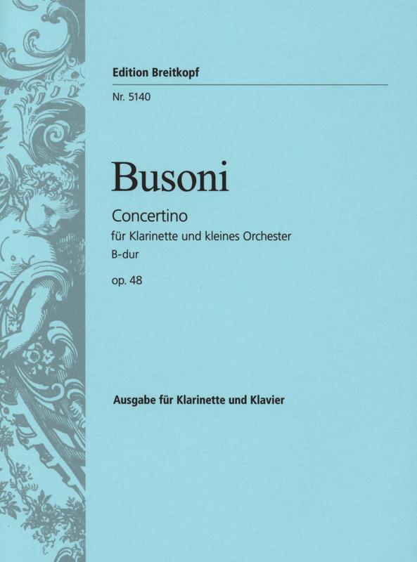 Concertinoop.48para clariente y piano. Ferruccio Busoni
