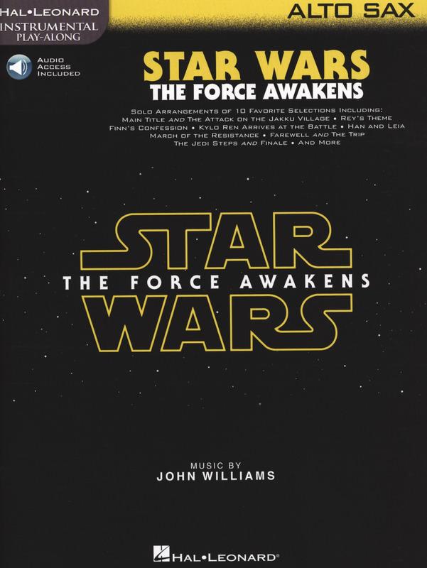 StarWars.TheForceAwakenspara saxofón alto.John Williams