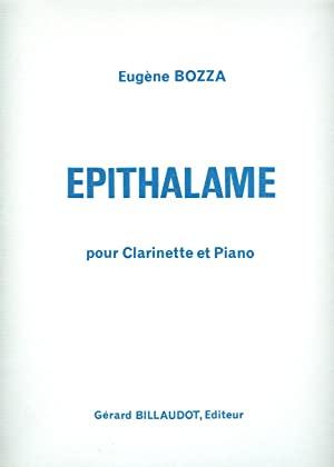 Epithalame(1971)para clarinete y piano.Eugene Bozza