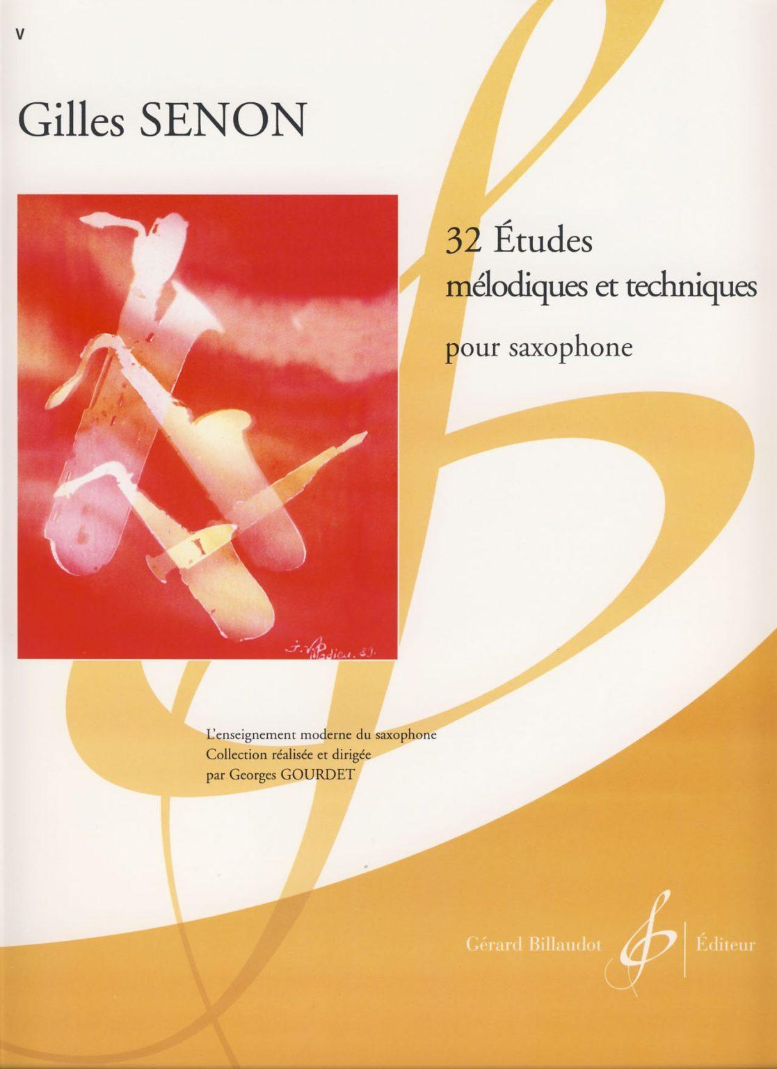 32EtudesMelodiquesetTechniques. Gilles Senon