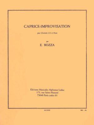 Caprice-Improvisation. Eugene Bozza