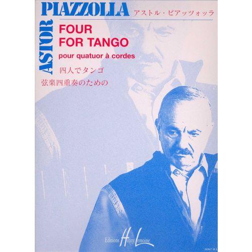 FourforTangopara saxofón.Astor Piazzolla