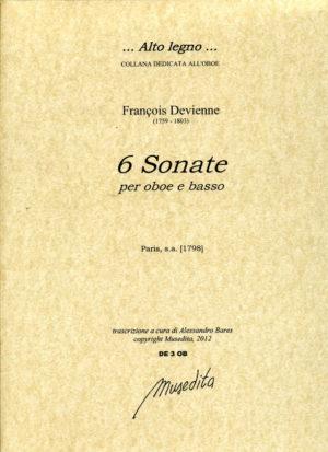 SechsSonatenpara dos flautas.FrancoisDevienne