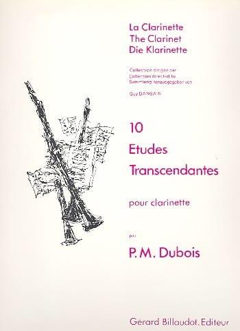 10EtudesTranscendantes. PierreMax Dubois
