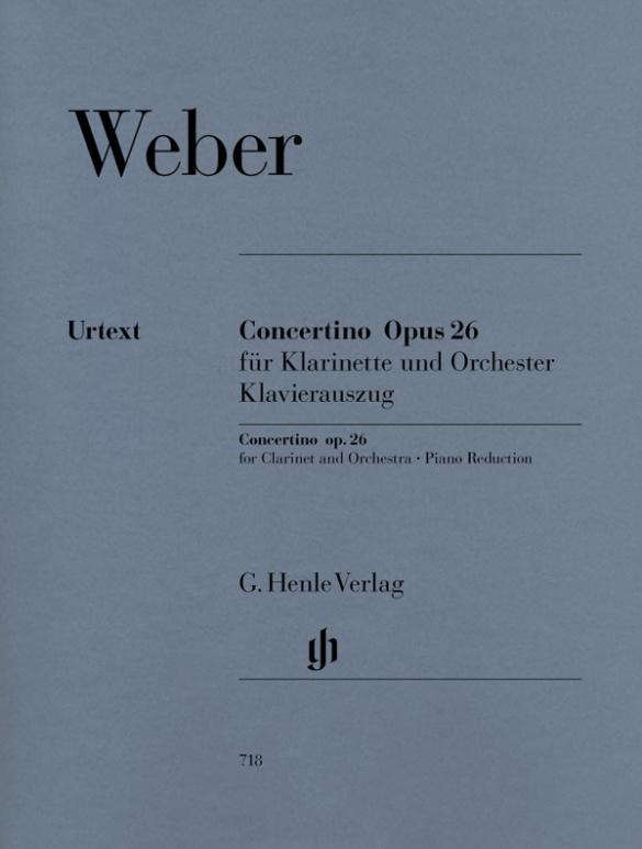 Concertinoop.26inEs-Durpara clarinete y piano. CarlMariavonWeber