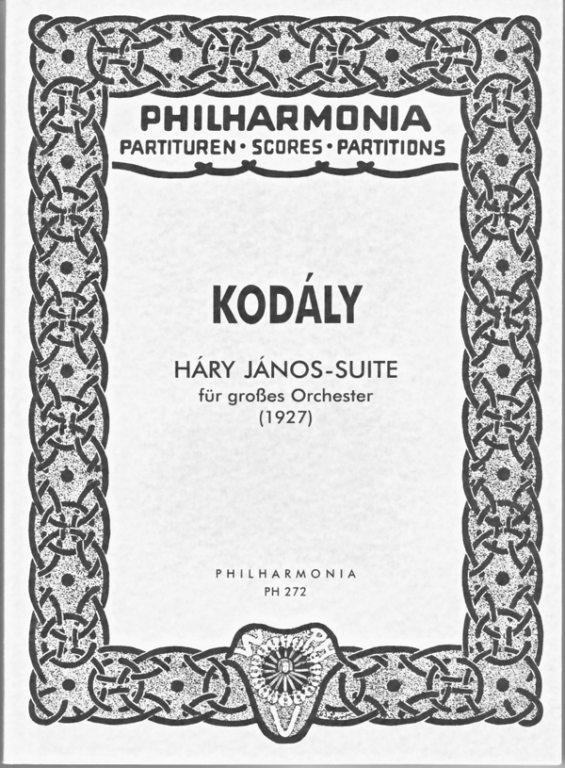 HaryJanospara dos clarinetes y piano. ZoltanKodaly