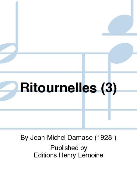 3Ritournelles.Jean-Michel Damase