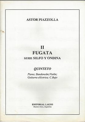 Fugata from Silfo y Ondina para clatinete. Astor Piazzolla