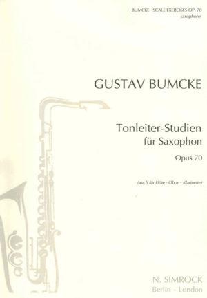 Tonleiter-Studienop.70. Gustav Bumcke
