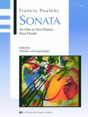 Sonata(1918)para dos clarinetes, uno en Sib y otro en A.FrancisPoulenc