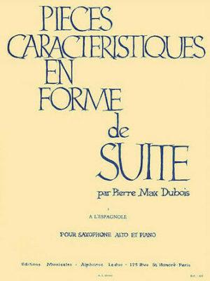 Al'Espagnoleaus´PiecesCaracteristiquesenFormedeSuite´(1962). PierreMax Dubois