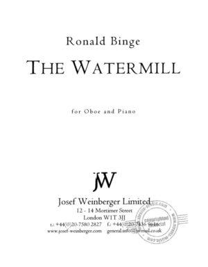 TheWatermill para clarinete y piano. Ronald Binge