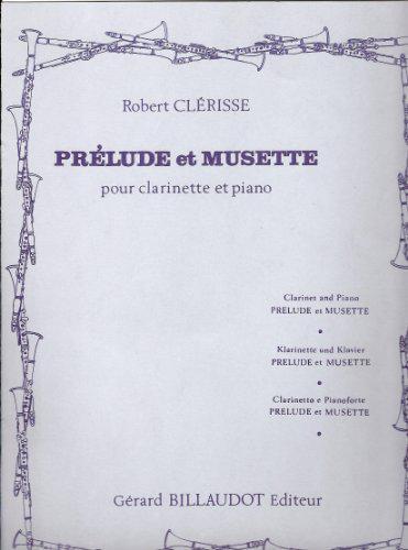 PreludeetMusette(1971)para clarinete y piano. Robert Clerisse