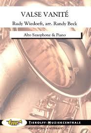 ValseVanite(1917)para saxofón alto y piano.Rudy Wiedoeft