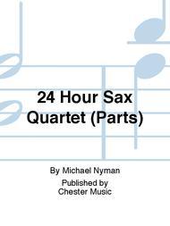 24HourSaxQuartet(2004)para saxofón.Michael Nyman