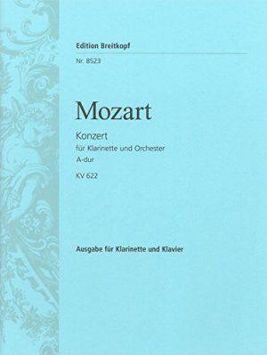 KonzertinA-DurKV622para clarinete en La y piano.WolfgangAmadeusMozart