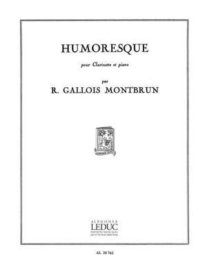 Humoresquepara clarinete y piano. Raymund Gallois-Montbrun