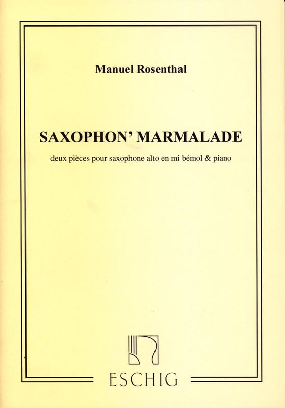 Saxophon'Marmalade(1929). Manuel Rosenthal