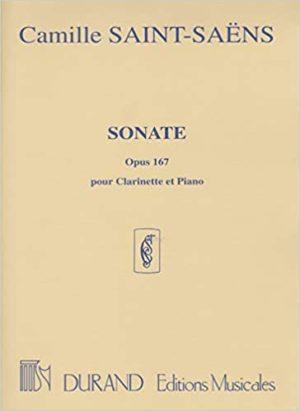 Sonateop.167(1921)para clarinete y piano. CamilleSaint-Saens