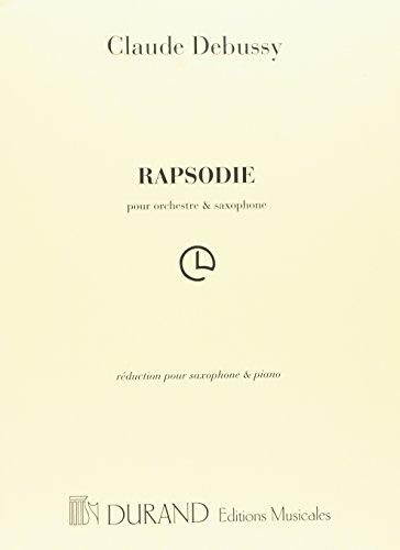 Rapsodie. Claude Debussy
