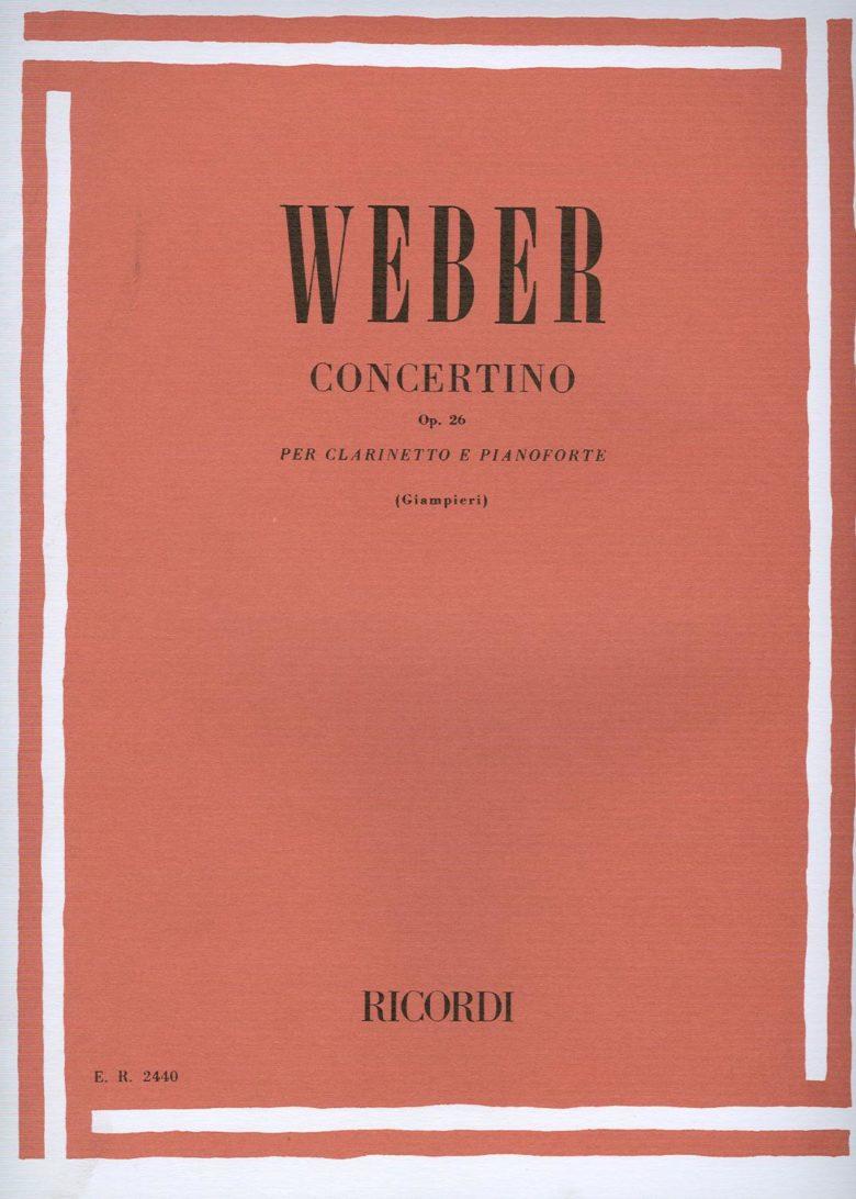 ConcertinoinEs-Durop.26para clarinete y piano.CarlMariavonWeber