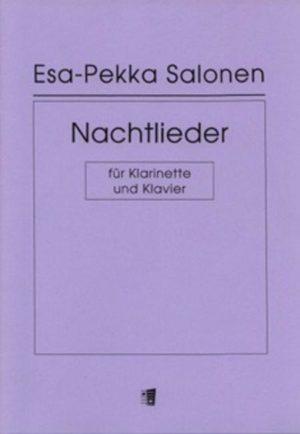 Nachtlieder(1978). Esa-Pekka Salonen