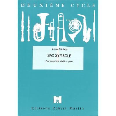 SaxSymbole(1997)para saxofón alto y piano. Jerome Naulais