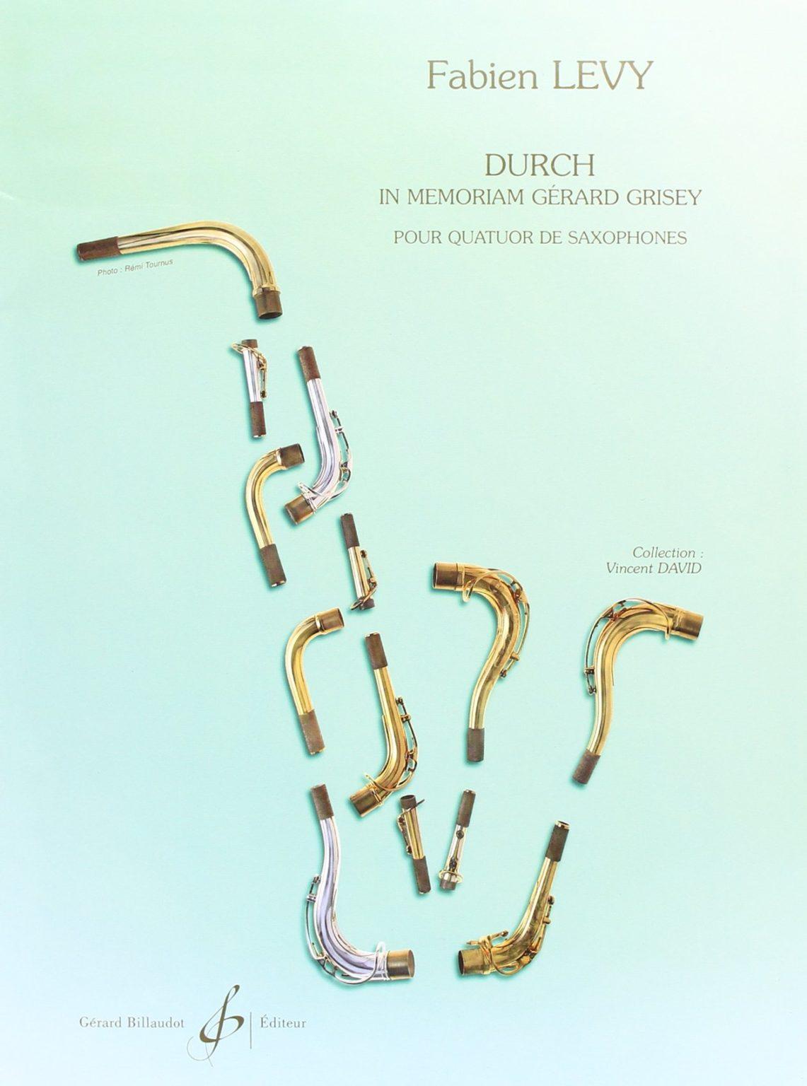 DURCH(2001)para saxofón. Fabien Levy