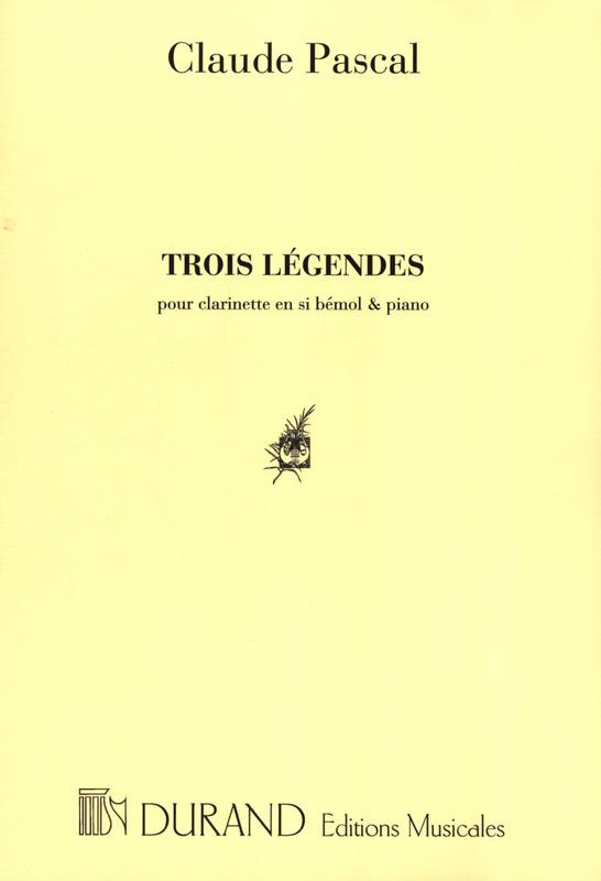 TroisLegendes. Claude Pascal