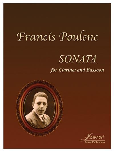 Sonata-Sonate(1918) para dos clarinetes. Francis Poulenc