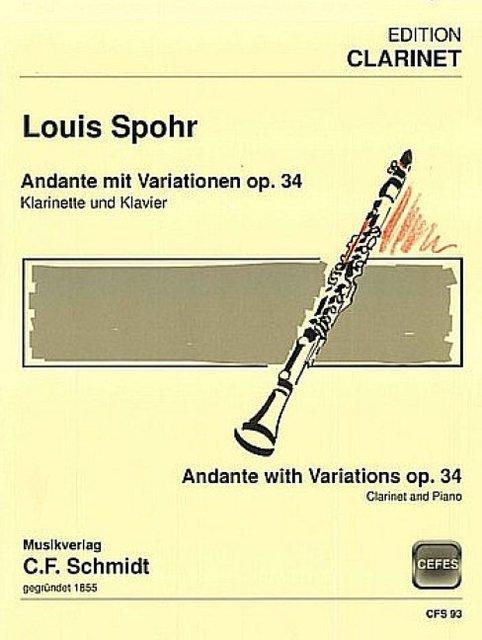 AndantemitVariationenop.34para clarinete y piano. LouisSpohr