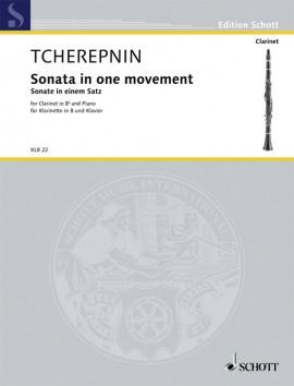 SonateineinemSatz-Sonatainonemovement(1939).Alexander Tcherepnin