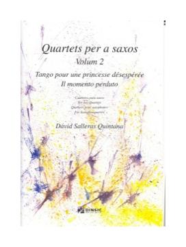 QuartetsperasaxosVolum2. DavidSalleras Quintana