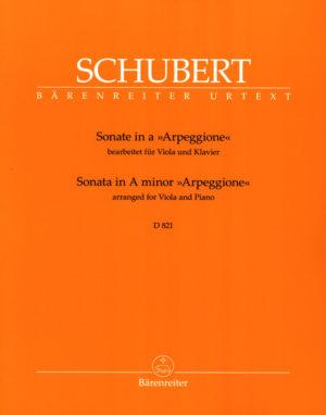 Sonataina-mollD821para clarinete en Sib y piano. FranzSchubert