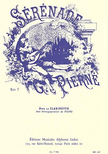 Serenadeop.7para clarinete y piano. Gabriel Pierne
