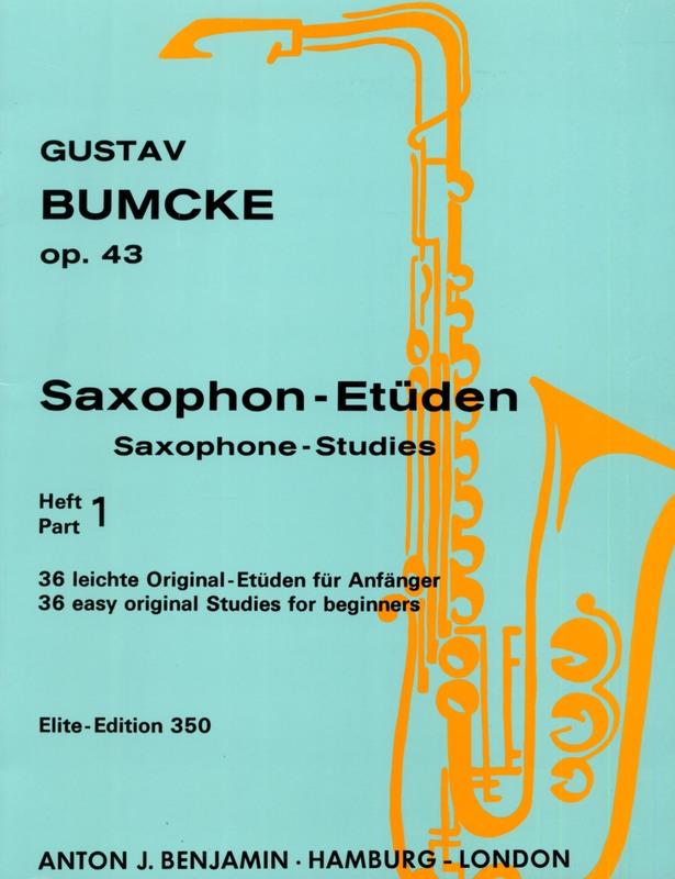 Saxophon-Etüdenop.43Gustav Bumcke