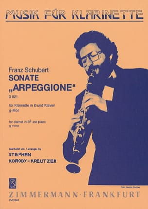 Sonate'Arpeggione'ing-mollD821para clarinete Bb y piano.FranzSchubert